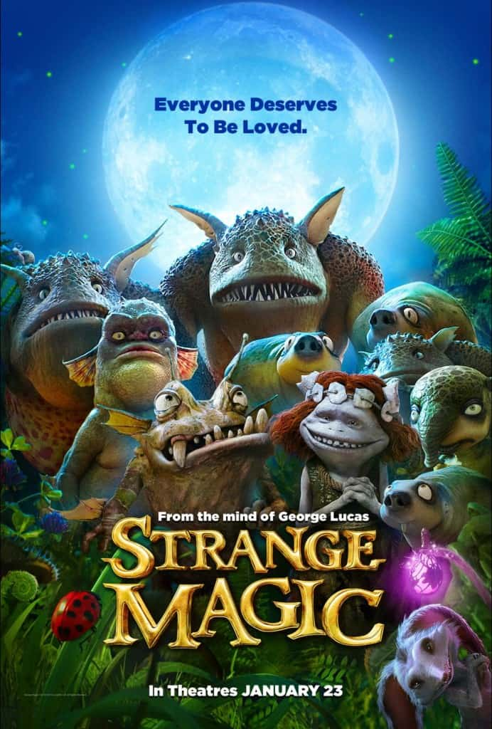 Strange Magic Movie, Strange Magic free printables