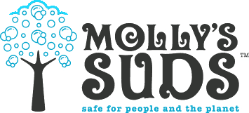 Molly's Suds natural laundry care, Kiwi Shop laundry, natural laundry
