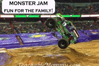 Monster Jam is Big Fun For the Whole Family
