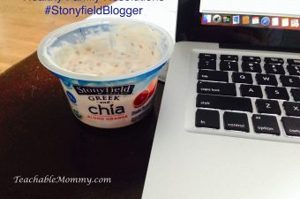 Our Healthy Family Resolutions #StonyfieldBlogger