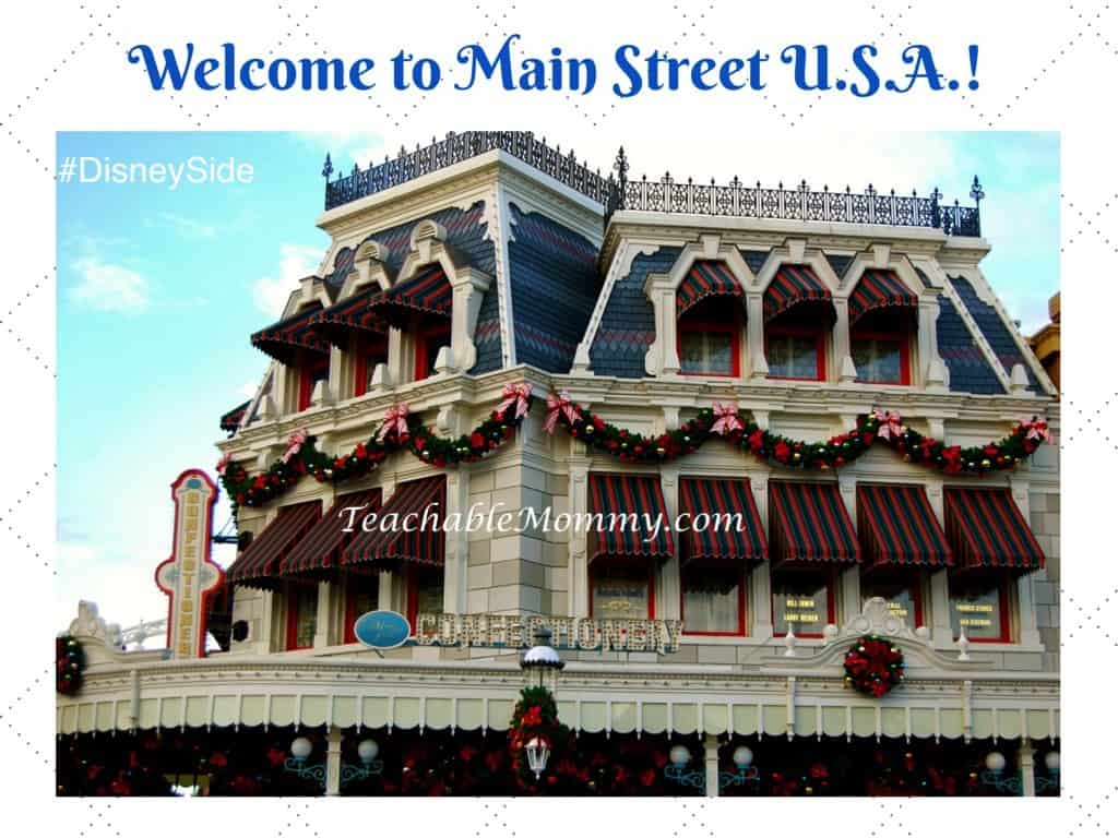 Welcome to Main Street USA, #DisneySide @ Home Party, Disney Party ideas