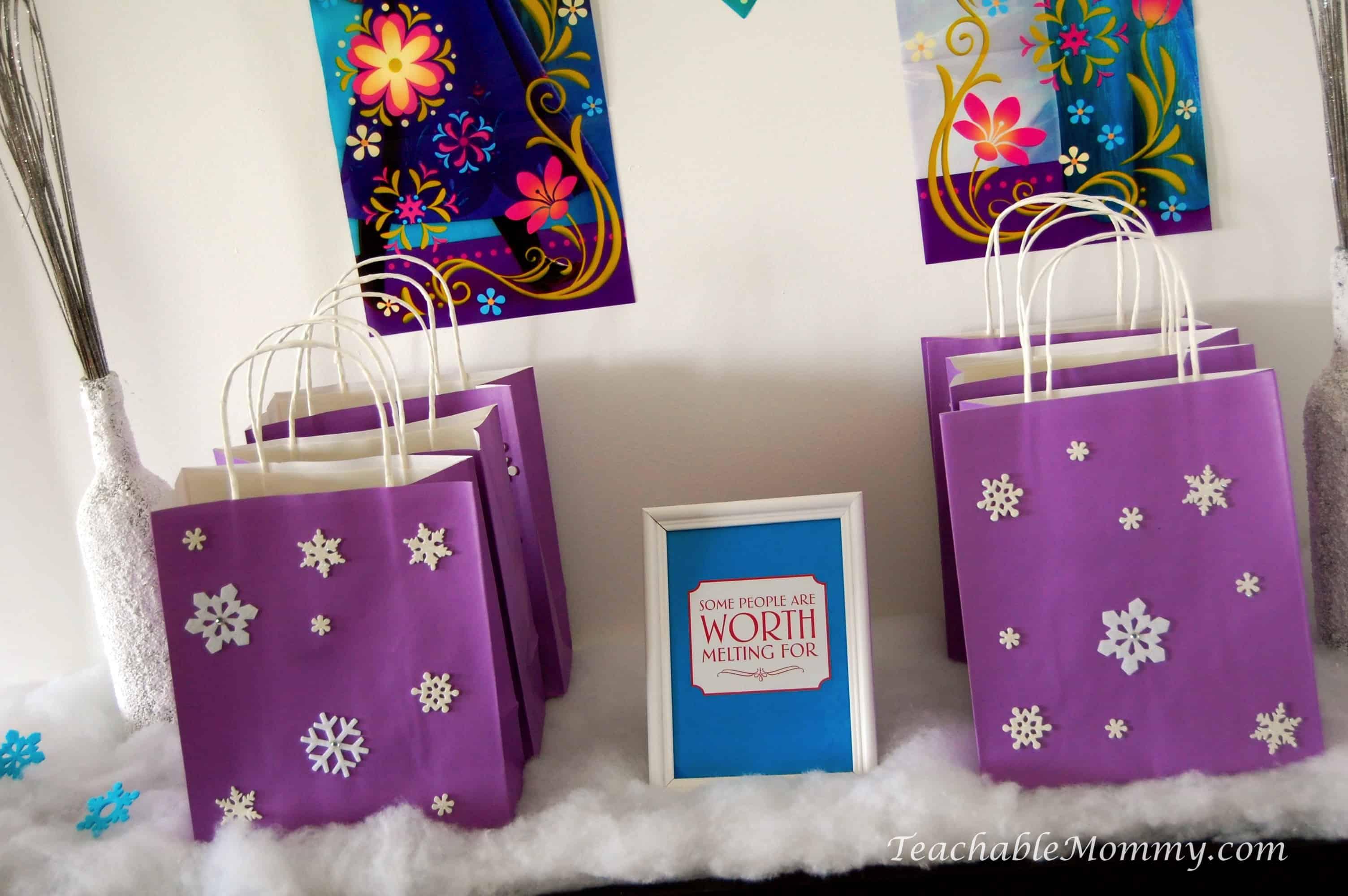 Frozen Birthday Party Ideas Frozen Birthday Crafts Frozen