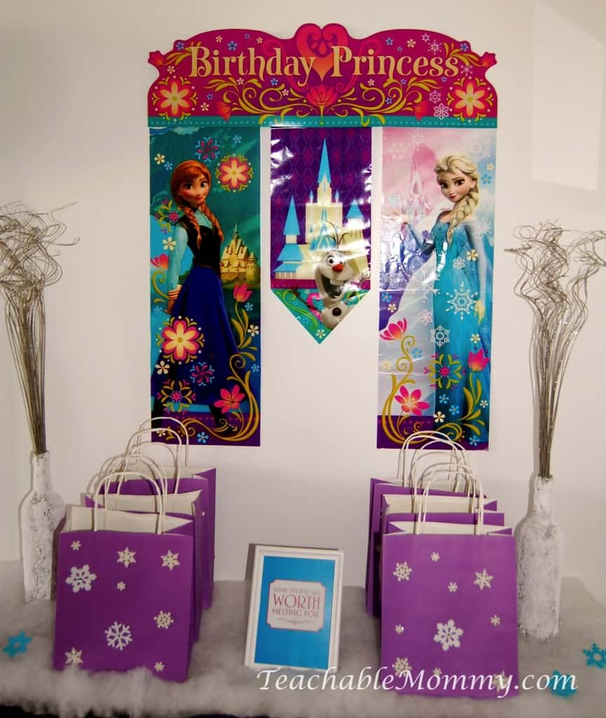 Frozen Birthday Party Decorations Games Food Free Printables and