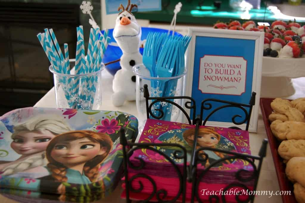 frozen birthday party decorations  games  food  free
