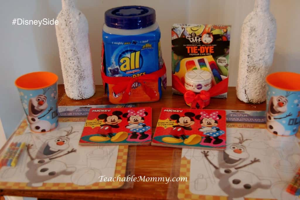 #DisneySide @ Home Party, Disney Party ideas