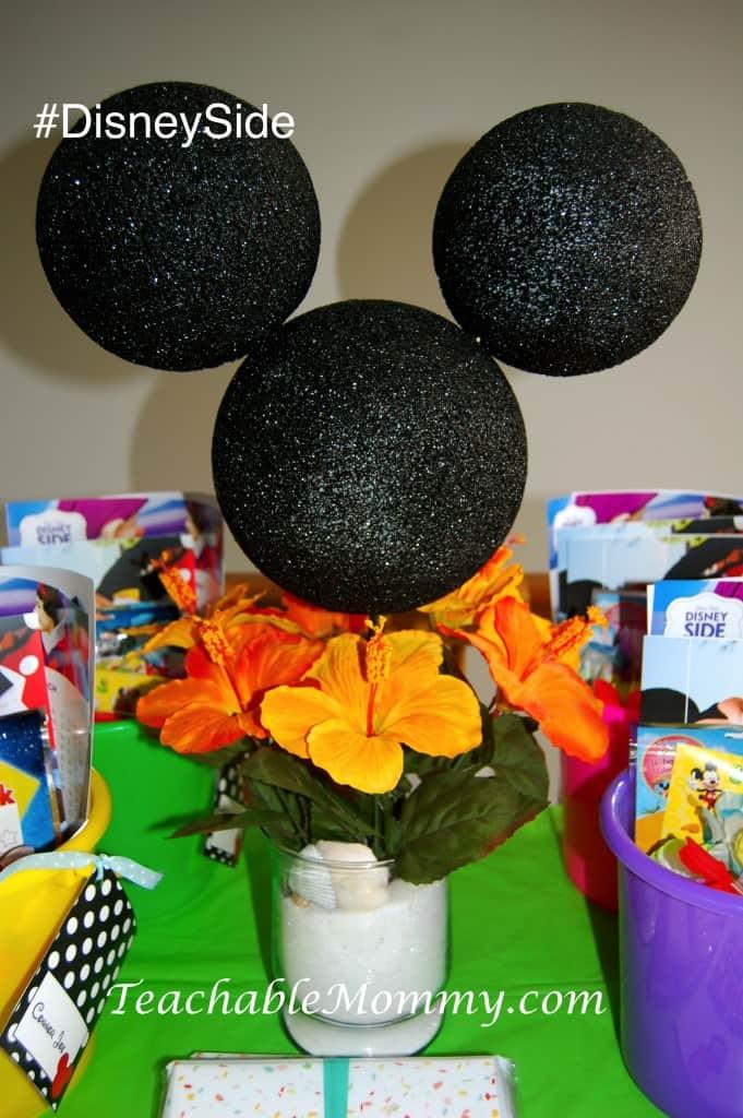 #DisneySide @ Home Party, Disney Party ideas