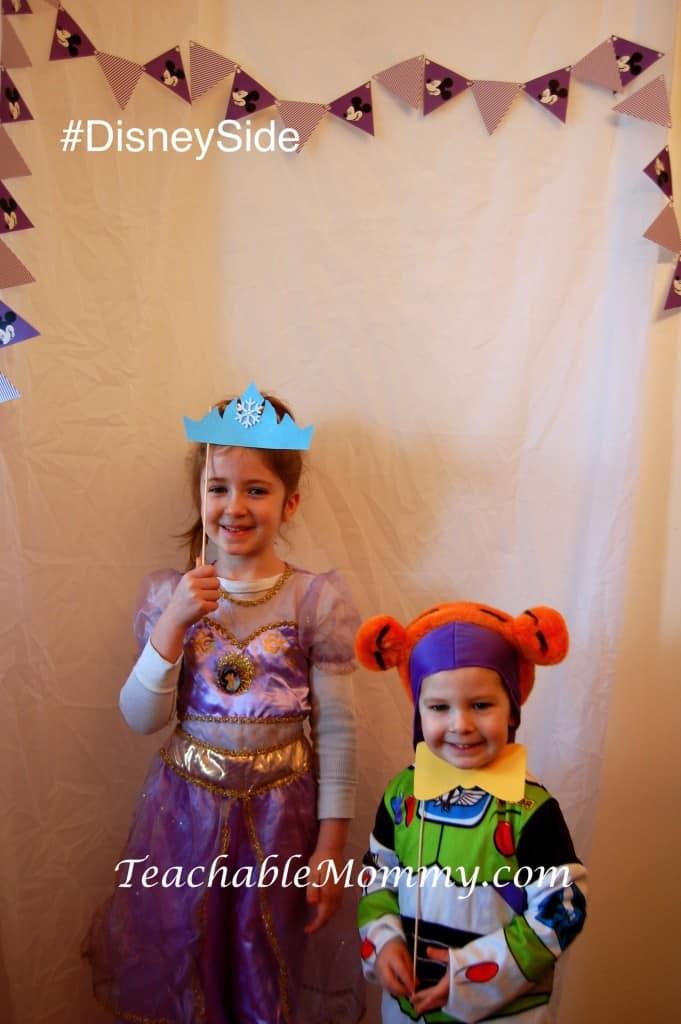 #DisneySide @ Home Celebration, Disney Photo Booth