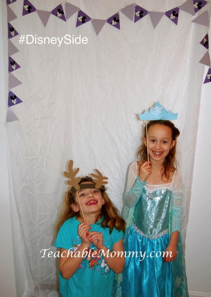 #DisneySide @ Home Celebration, Disney Photo Booth