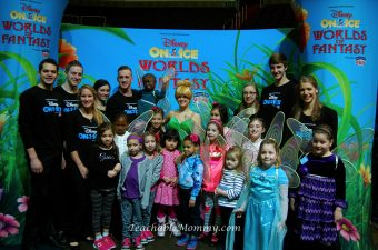 Disney On Ice and Hope For Henry Creating Memories for Special Princesses
