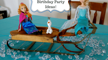 Frozen Birthday Party Decorations, Games, Food, Free Printables and More!