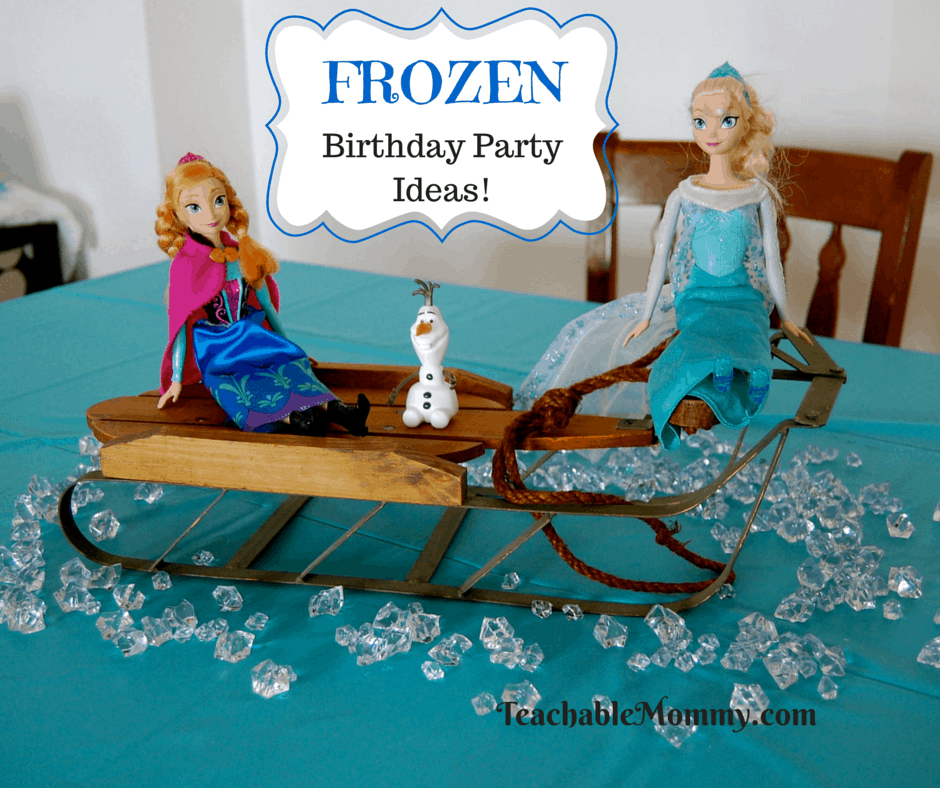 graphic regarding Free Printable Birthday Decorations named Frozen Birthday Get together Decorations, Game titles, Meals, No cost