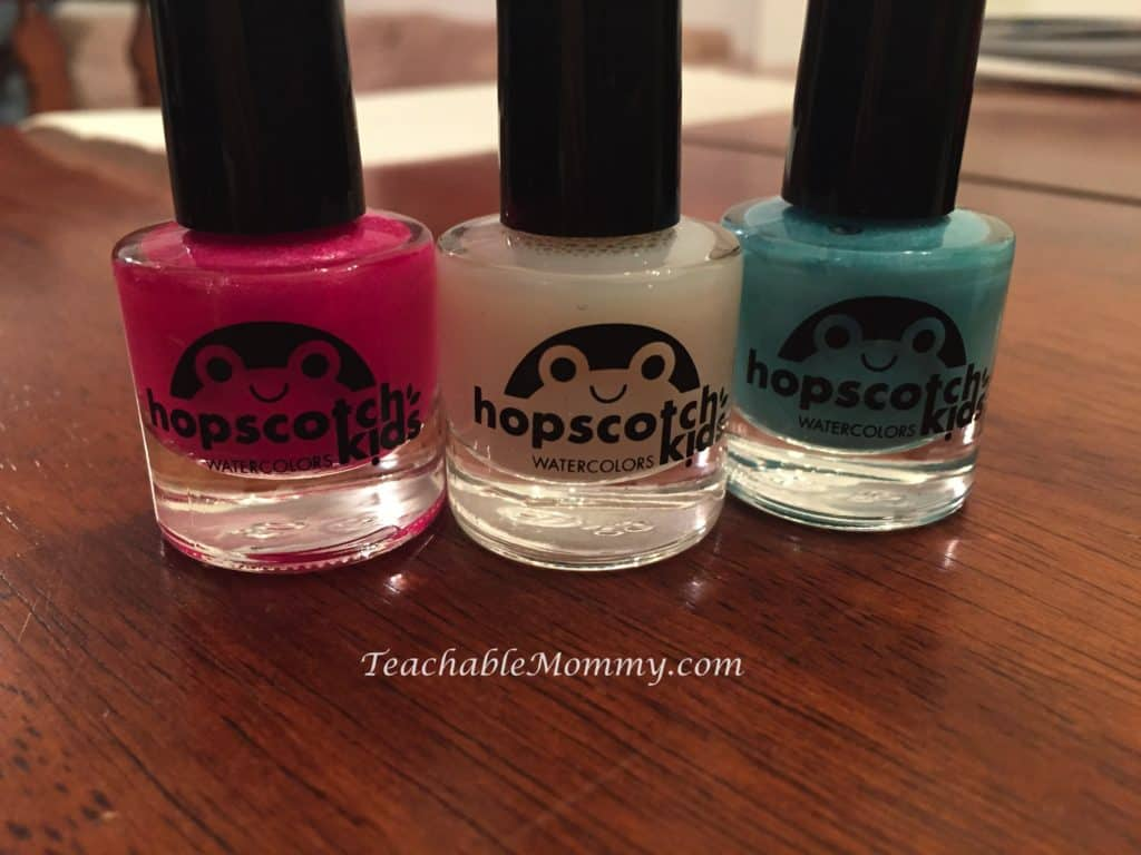 Conscious Beauty, #ConsciousBeauty, Natural Organic Personal Care Products, Hopscotch Natural Kids Nail Polish