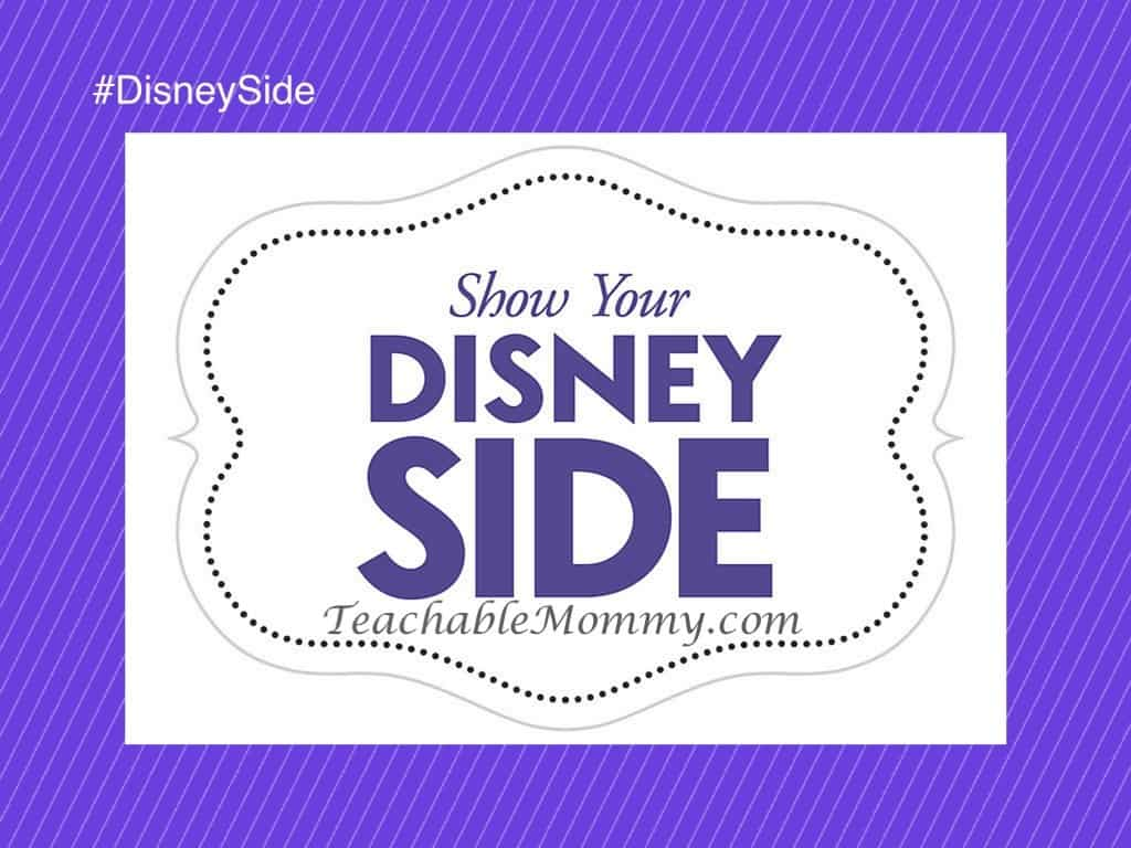 #DisneySide @ Home Party, Disney Party ideas, Disney Photo Booth