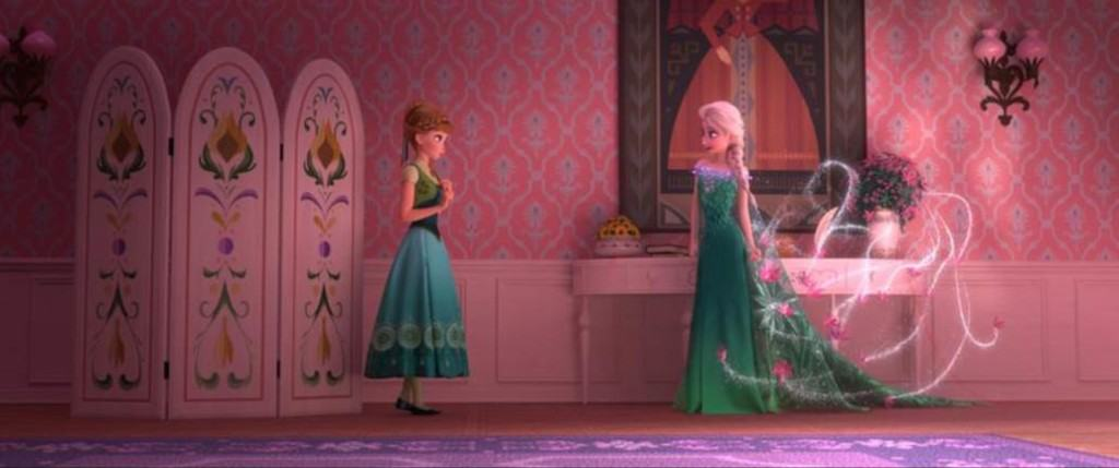 Frozen Fever Images, #FrozenFever, New Elsa and Anna dresses