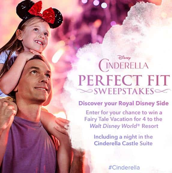 Cinderella Perfect Fit Sweepstakes