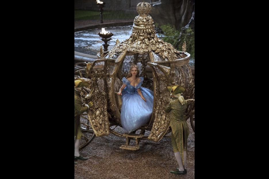Cinderella Live Action Movie, Cinderella's carriage