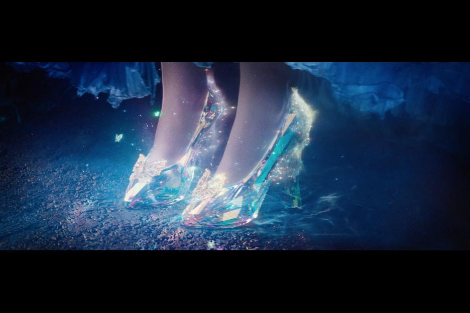Cinderella Live Action Movie, Glass Slippers