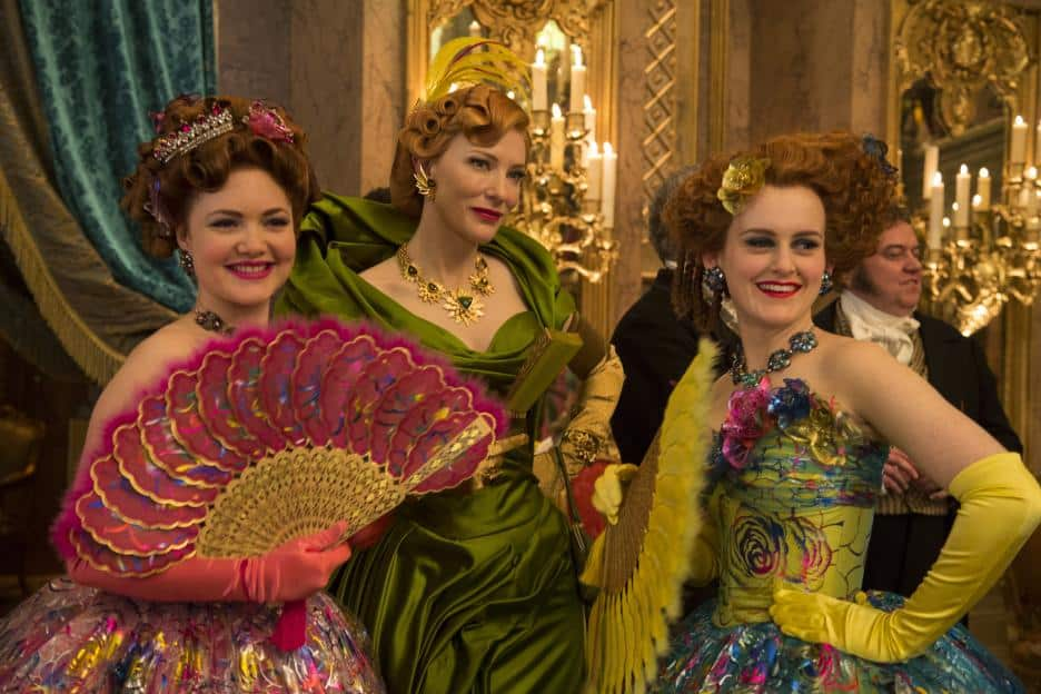 Cinderella Live Action Movie, Stepmother and Step Sisters