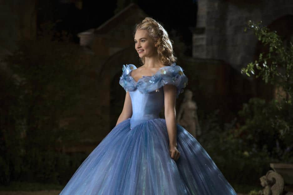 Cinderella Live Action Movie, Cinderella's dress