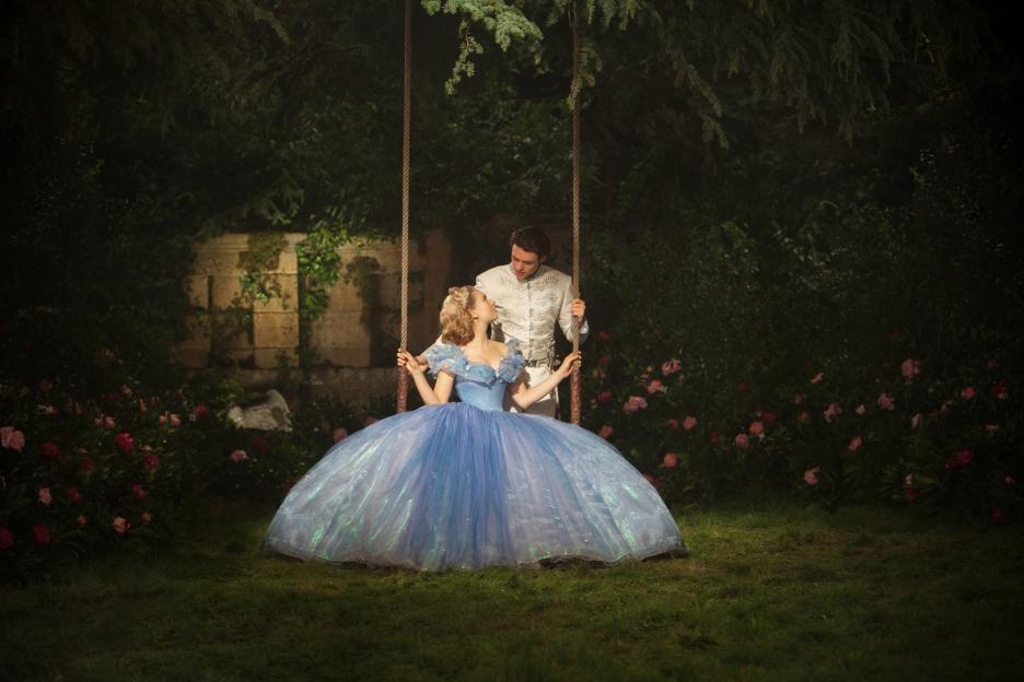 Cinderella Live Action Movie, Cinderella and the Prince