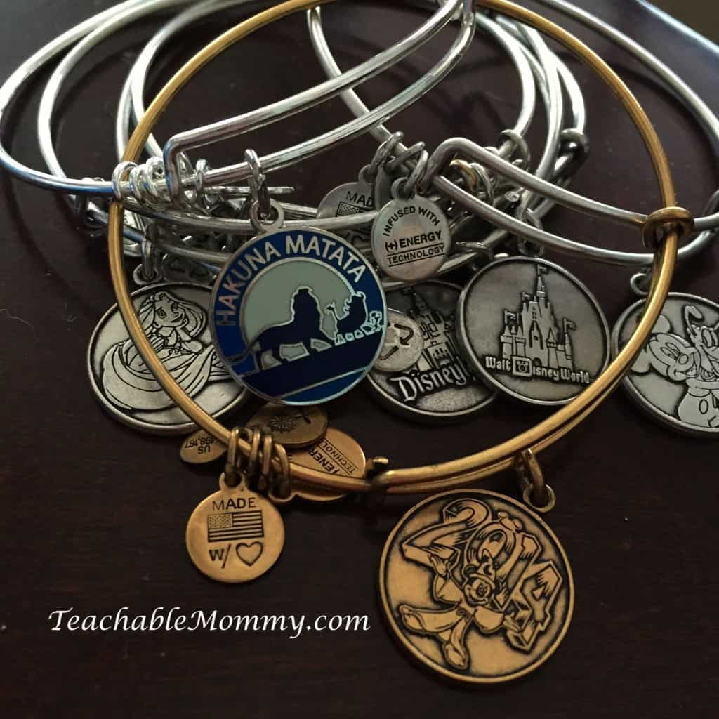 Alex and Ani Disney Bracelets, Signs you are a big Disney Kid, #DisneySide #DisneySMMoms, #DisneySMMC