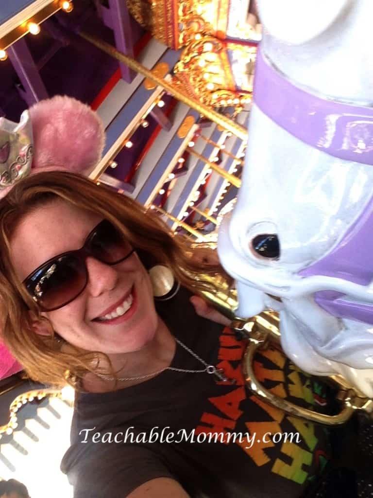 Disneyland Carousel, Signs you are a big Disney Kid, #DisneySide #DisneySMMoms, #DisneySMMC