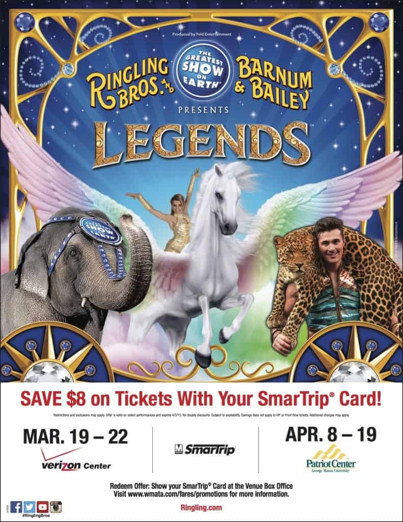 Ringling Bros. Metro Discount ticket Information