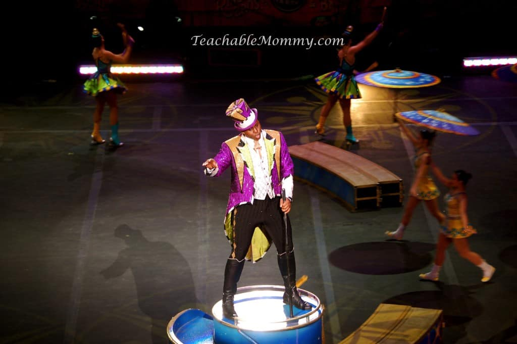 Ringling Bros. and Barnum & Bailey presents LEGENDS! , Jonathan Lee Iverson ringmaster, Big Top Voice