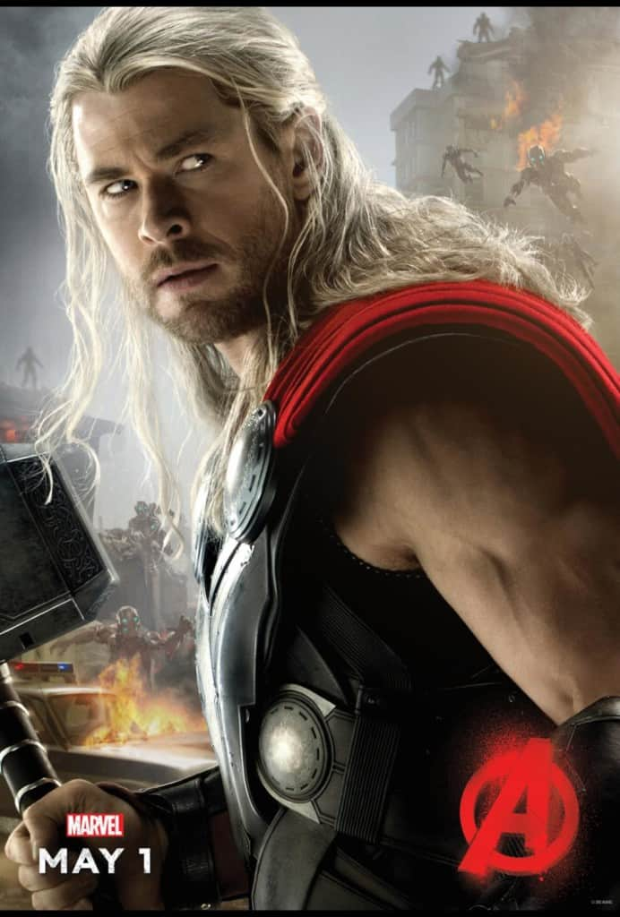 Avengers Age of Ultron review, free coloring sheets, Thor