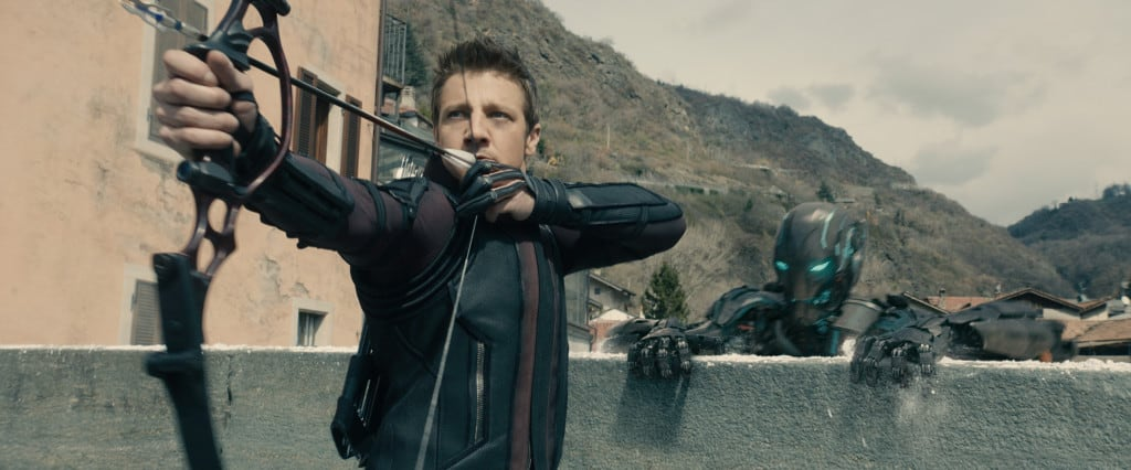 Avengers Age of Ultron review, free coloring sheets, Hawkeye