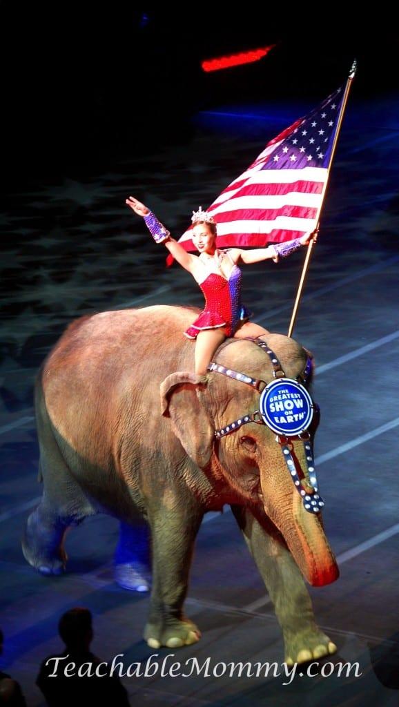 Ringling Bros. and Barnum & Bailey presents LEGENDS! , elephants