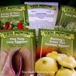 Organic Gardening, Organic Seeds, Organic NonGMO seeds