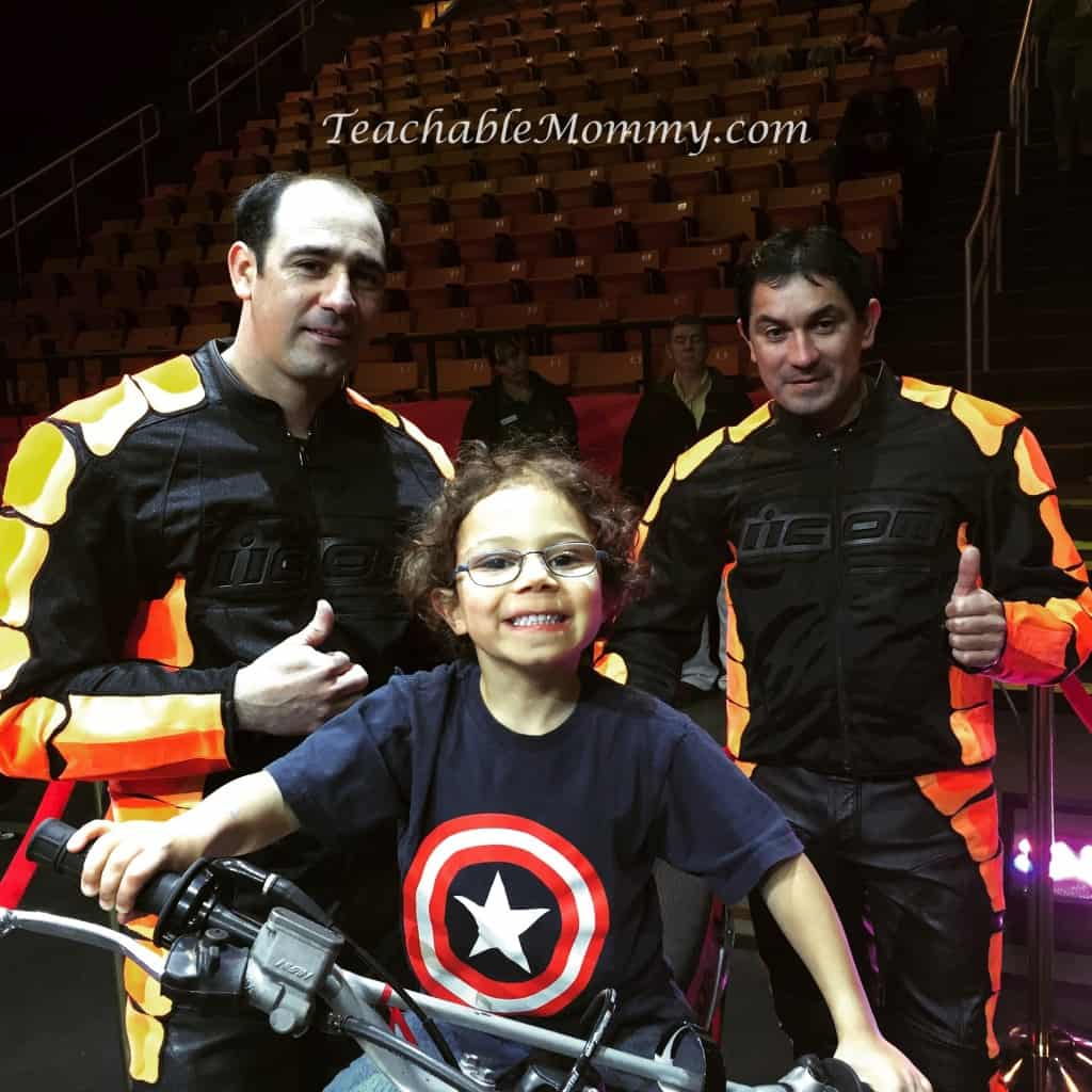 Ringling Bros. and Barnum & Bailey presents LEGENDS! , The Torres Family
