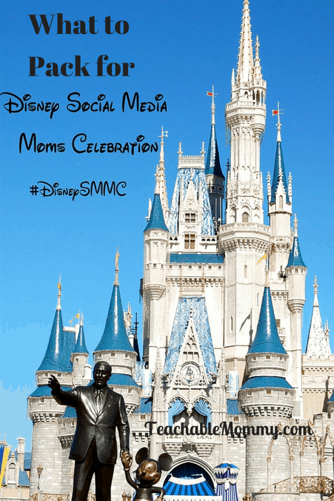 What to Pack for Disney Social Media Moms Celebration, #DisneySMMC, what to pack for a Disney conference, pack for a conference