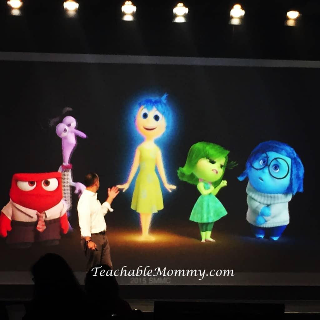 #DisneySMMC, Disney Social Media Moms Celebration, #InsideOut