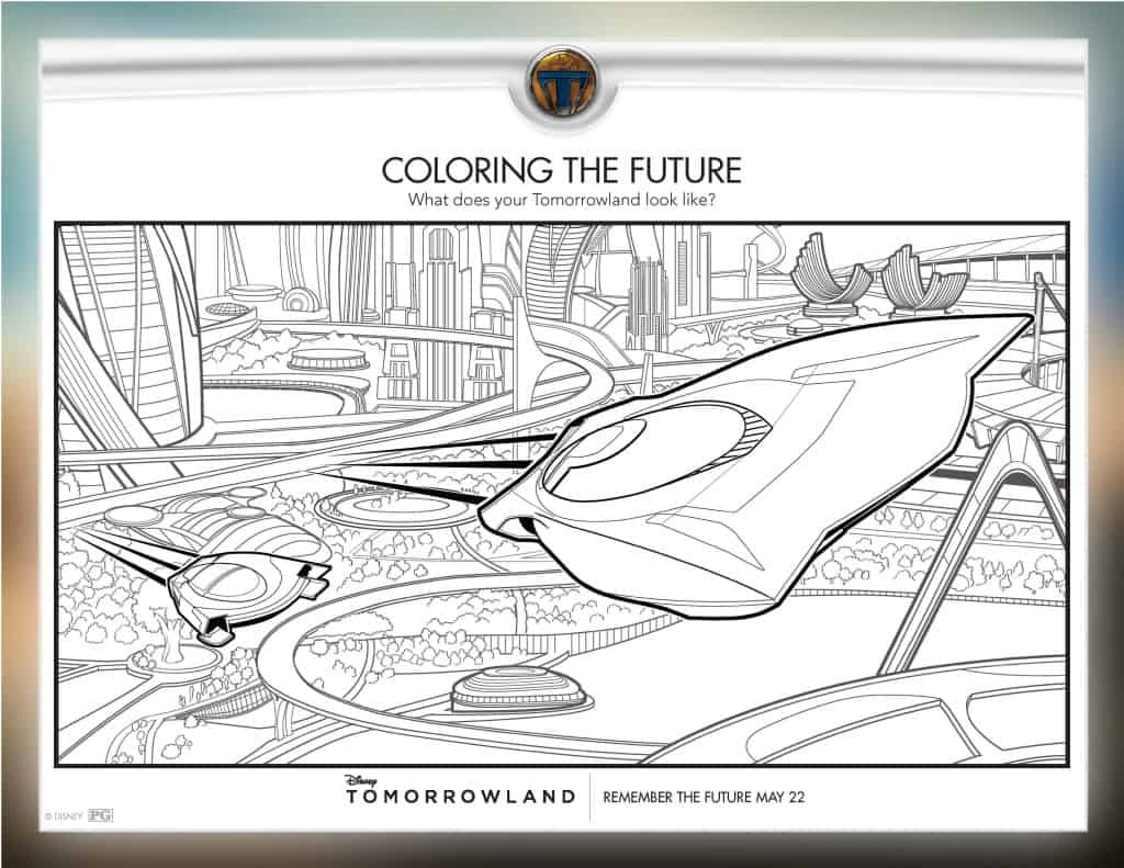 Tomorrowland free printables, Tomorrowland free coloring sheets, Tomorrowland free downloads, Tomorrowland free activities, #Tomorrowland