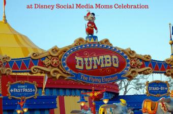 Flying High on Dumbo at Disney Social Media Moms Celebration! | #DisneySMMC