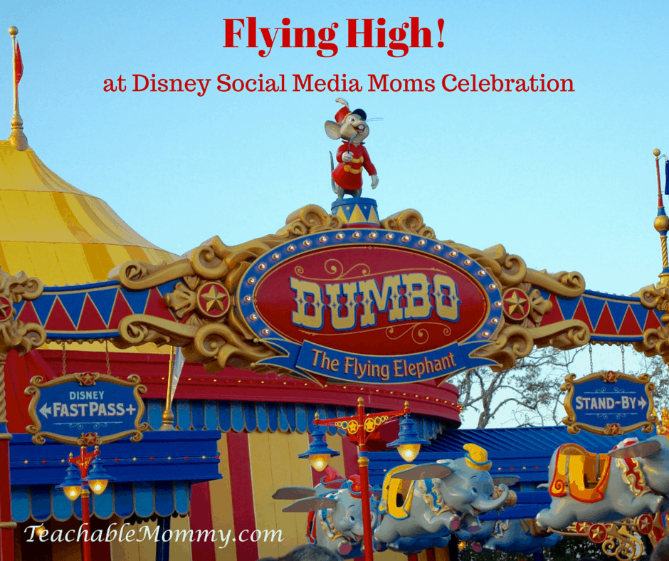 #DisneySMMC, Dumbo Ride, video of Dumbo Ride