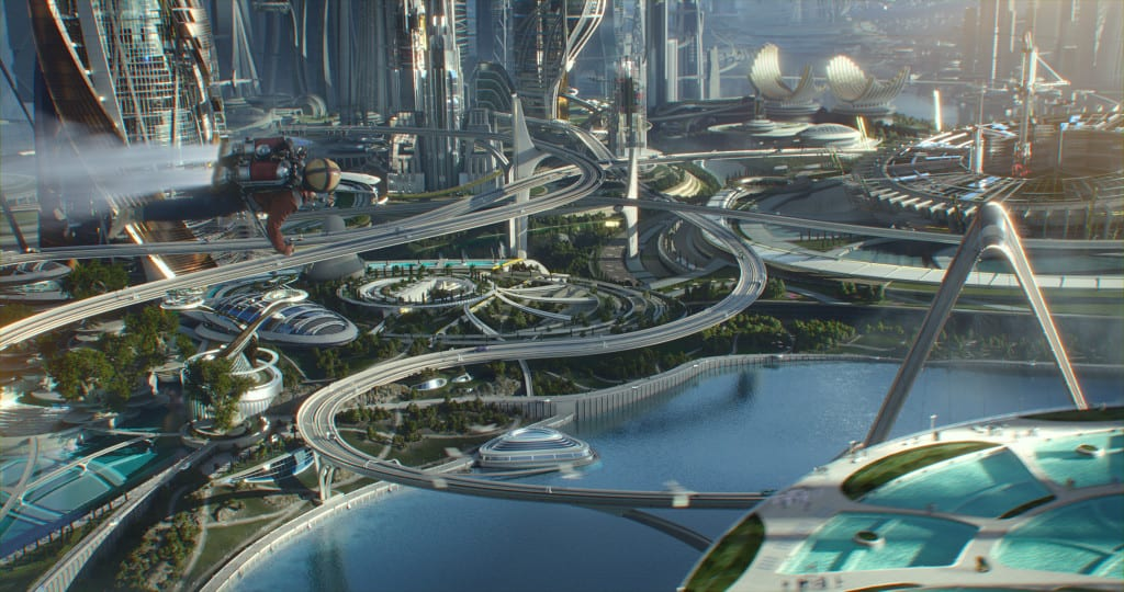 Disney's TOMORROWLAND..Young Frank Walker (Thomas Robinson) ..Ph: Film Frame..©Disney 2015