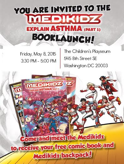 Medikidz Comic Book Launch