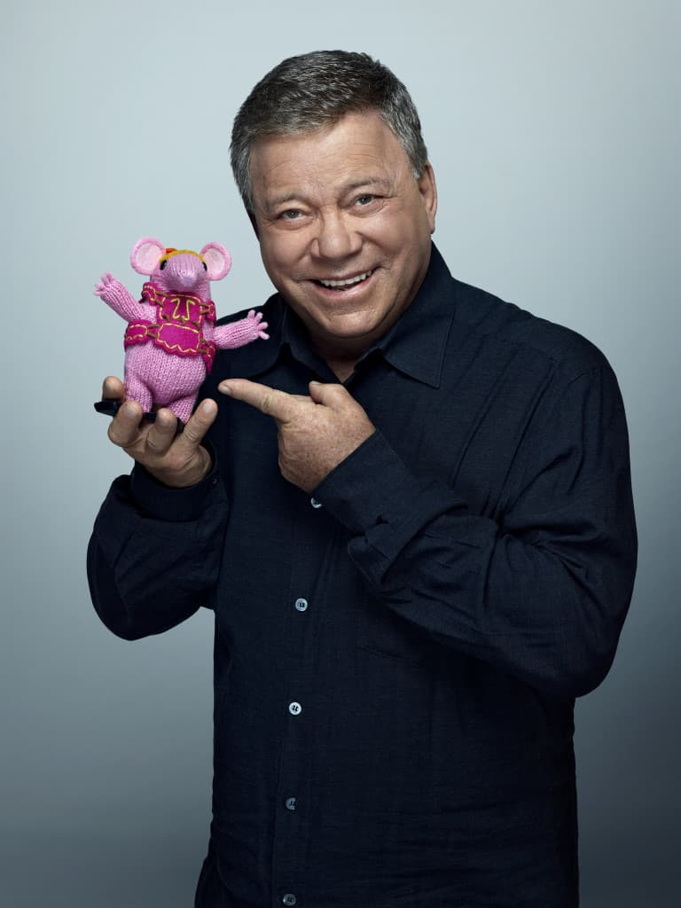 Clangers TV Show, #SproutClangers, preschool TV Shows, William Shatner