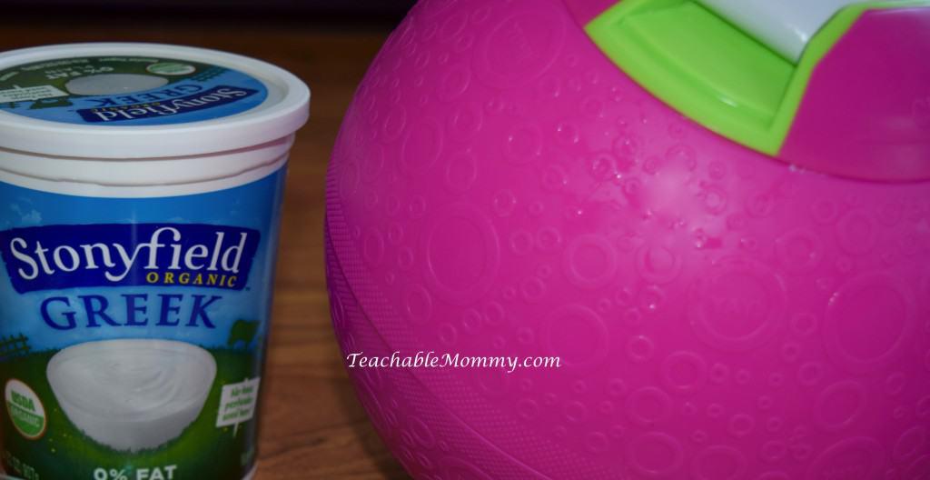 Yalabs! Ice Cream Ball, Frozen Yogurt Recipe, Organic Frozen Yogurt Recipe, Froyo Recipe
