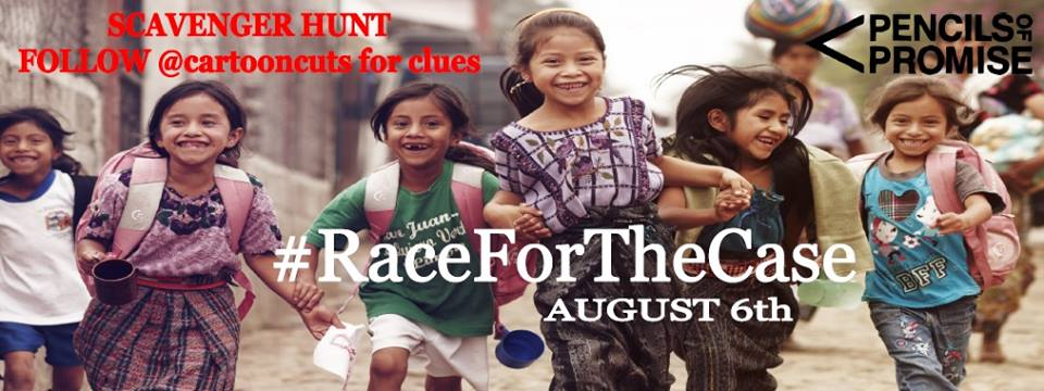 #RacefortheCase, Cartoon Cuts, helping kids in need