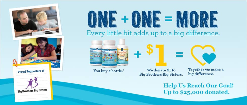 Nordic Naturals One + One = More, Giveaway