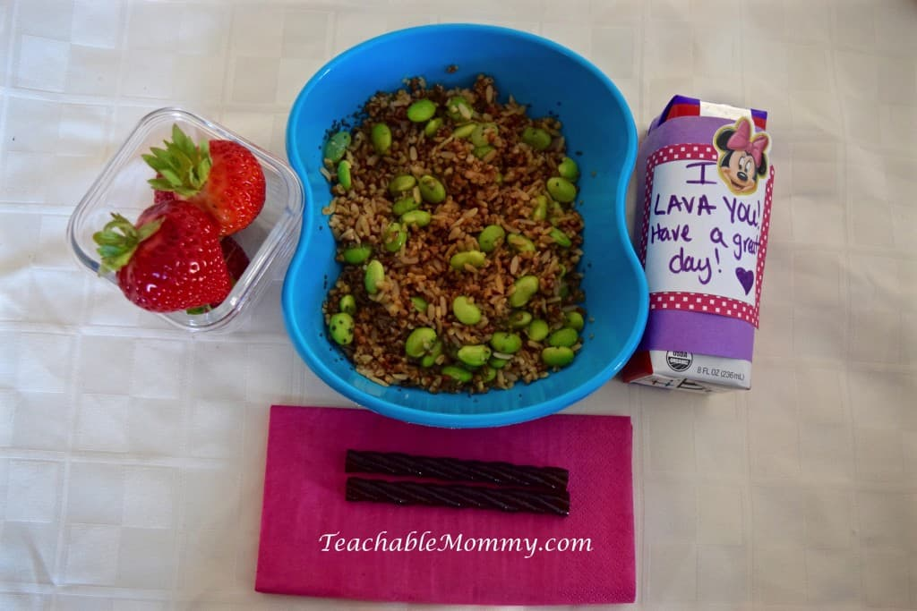 LunchWithMinute, AD, Asian Rice Recipe, Lunchbox Rice Recipes, Easy Lunch ideas, Lunchbox ideas for kids