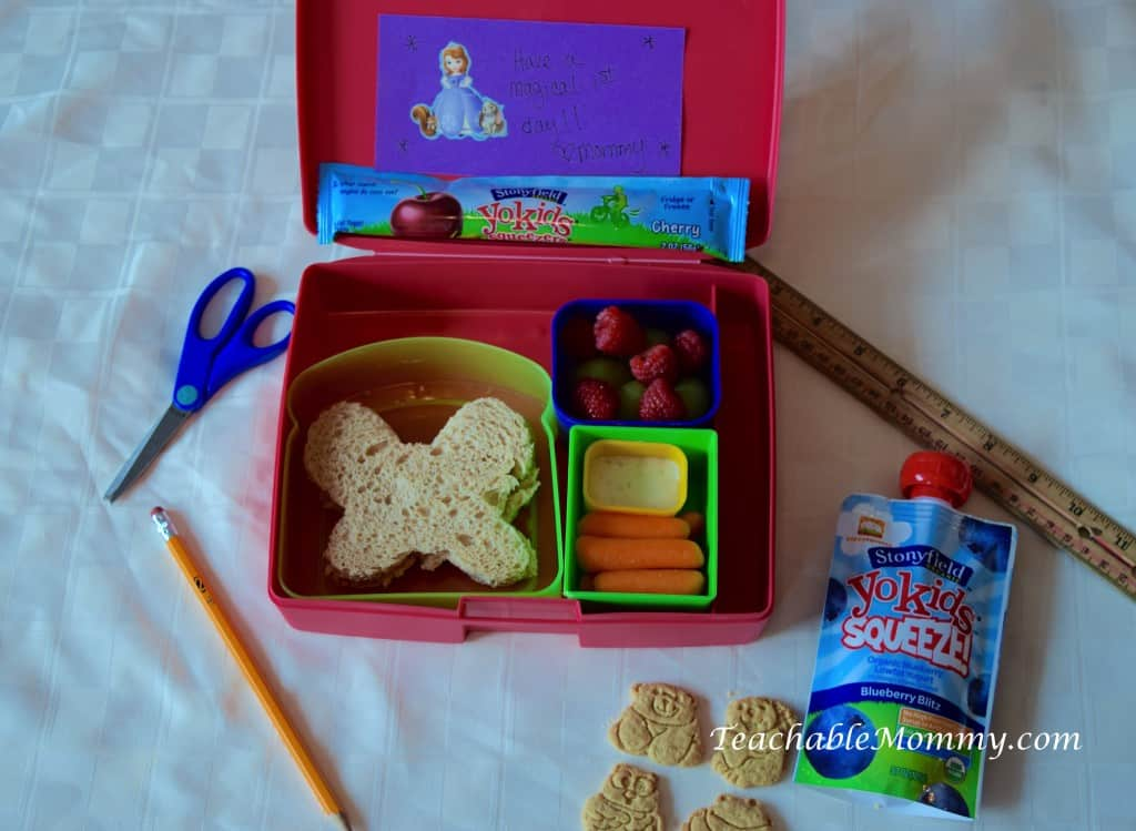 Lunchbox ideas, Lunchbox, Kid lunches, Back to School, #StonyfieldBlogger