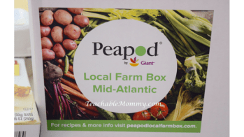 Grocery Shopping Made Easy with Peapod Giveaway