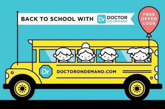 """Doctor On Demand, Instant doctor visits, free code for doctor on demand """"Teachable15"""" first visit free"""
