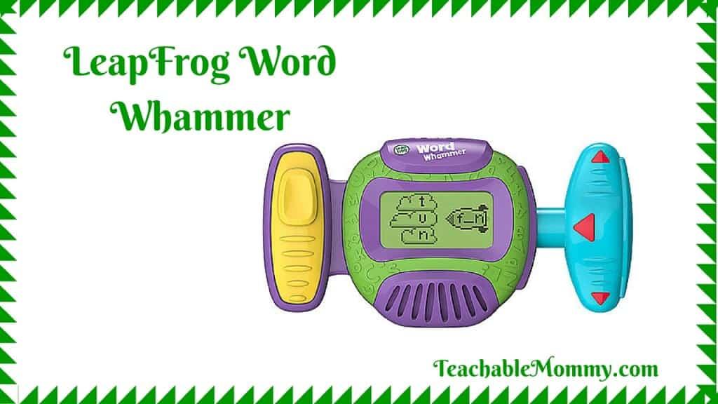Word Whammer Review, LeapFrog Word Whammer, #LeapFrogMomSquad, #LeapBacktoSchool, spon