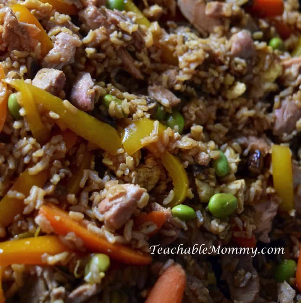 Healthy Fried Rice, AD, CelebrateMinuteRice, @MinuteRiceUS